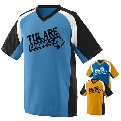 Customized Augusta Sportswear 1535 Nitro Jersey Shirt