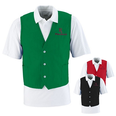 Customized Augusta Sportswear 2145 Waiters Apron Vest