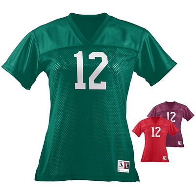 Customized Augusta Sportswear 250 Ladies Juior Fit Replica Football Tee