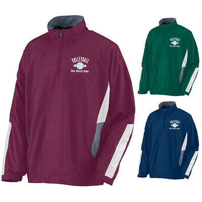 Customized Augusta Sportswear 3720 Drive Half Zip Pullover