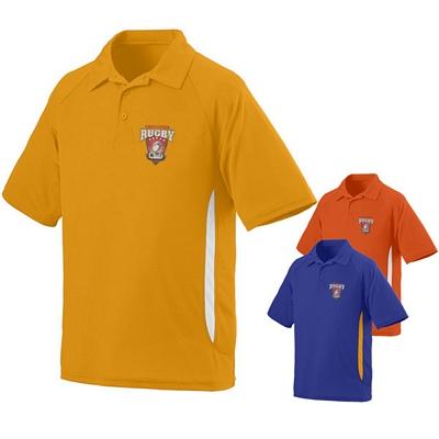 Customized Augusta Sportswear 5005 Mens Mission Coach Sport Polo Shirt
