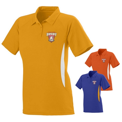 Customized Augusta Sportswear 5006 Ladies Mission Coach Sport Polo Shirt