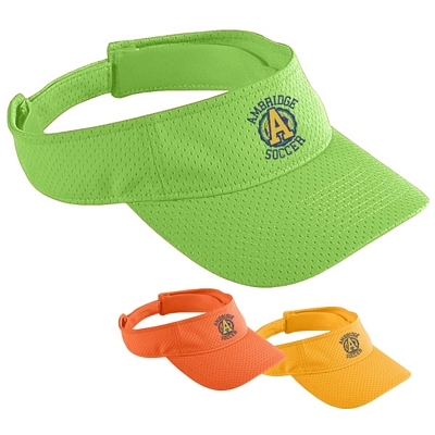Customized Augusta Sportswear 6227 Athletic Mesh Visor