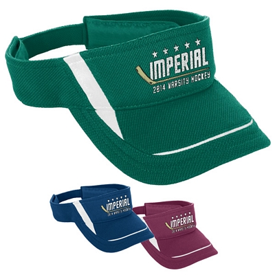 Customized Augusta Sportswear 6275 Adjustable Wicking Mesh Edge Visor