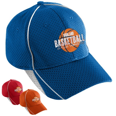 Customized Augusta Sportswear 6280 Athletic Mesh Force Cap