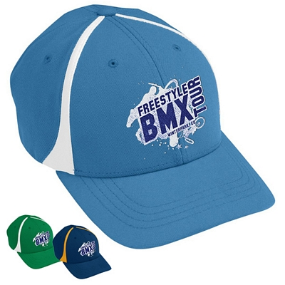 Customized Augusta Sportswear 6310 Flexfit Zone Cap
