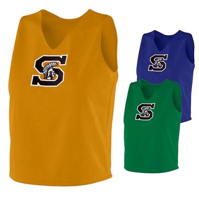 Customized Augusta Sportswear 9100 Ladies Cheerleader Excite Shell Shirt