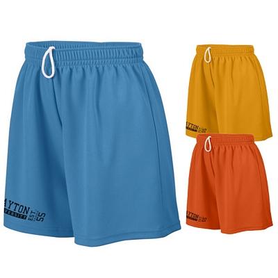 Customized Augusta Sportswear 960 Ladies Wicking Mesh Short