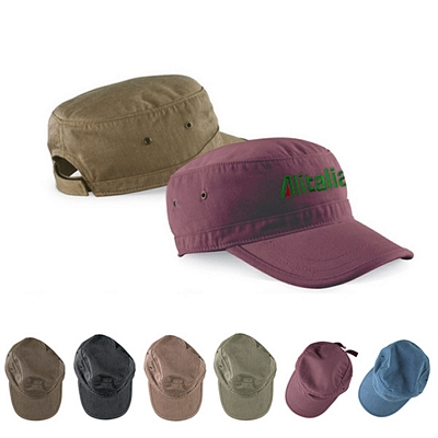 Customized Authentic Pigment 1918 Cafe Cap