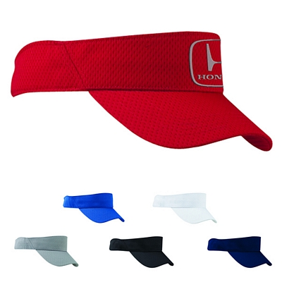 Customized Big Accessories BX022 Sport Visor with Mesh
