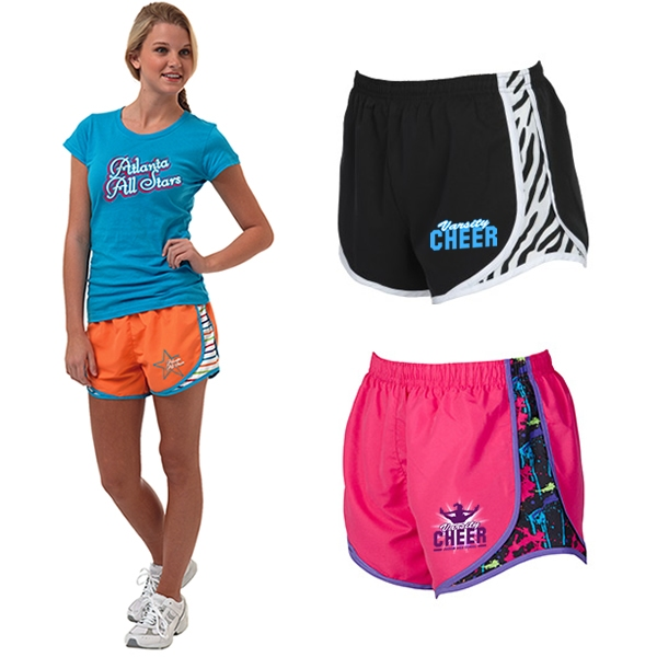 c9c4e069aac Boxercraft P629 Ladies  Neon Velocity Athletic Shorts