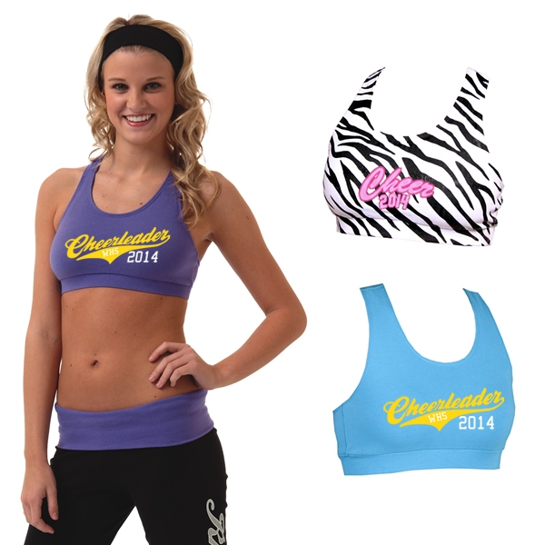 Boxercraft SB100 Ladies' Spiritwear Athletic Sports Bra | Screen ...