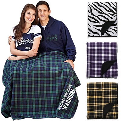 Customized Boxercraft FB250 60x50 Flannel Premium Blanket