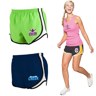 Customized Boxercraft P62 Ladies Velocity Athletic Shorts
