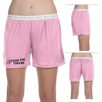 Customized Champion 3393 Ladies Active Mesh Shorts