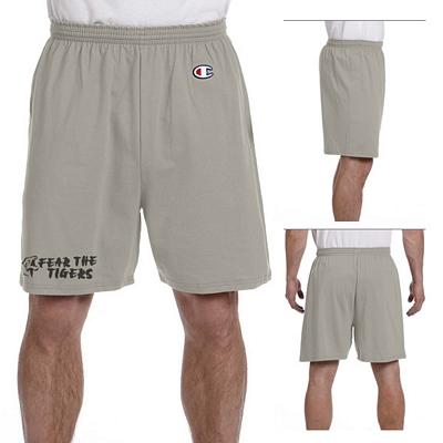 Customized Champion 8187 Adult 6.1 oz Cotton Jersey Shorts