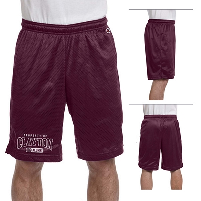 Customized Champion 8731 3.7 oz Polyester Mesh Shorts