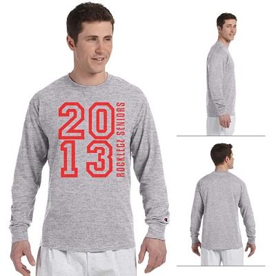 21a47d171 Champion CC8C Adult 5.2 oz Long-Sleeve Tagless T-Shirt | Screen ...