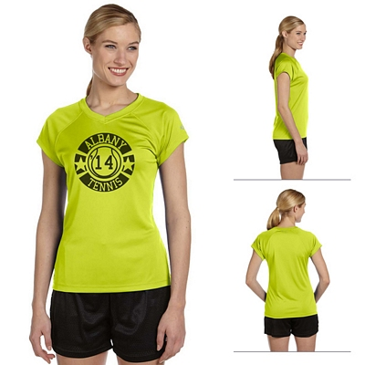 Customized Champion CW23 Ladies 4 oz Double Dry Performance T-Shirt