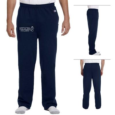 Customized Champion P800 Adult Eco 9 oz Poly-Cotton Open-Bottom Pants