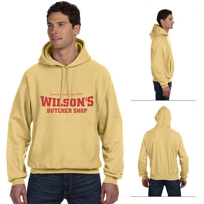 Customized Champion S1051 Adult 12 oz Reverse Weave Pullover Hood Sweatshirt