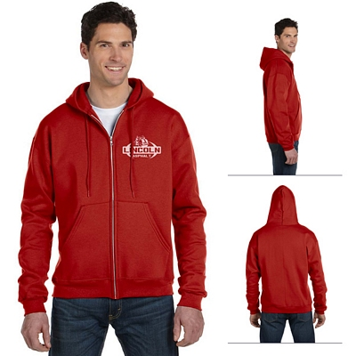 Customized Champion S800 Adult Eco 9 oz Poly-Cotton Full-Zip Hood Sweatshirt