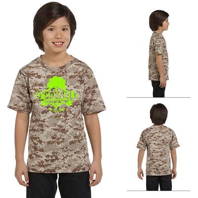 Customized Code V 2206 Youth Camouflage T-Shirt