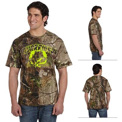 Customized Code V 3980 REALTREE Camouflage Short-Sleeve T-Shirt
