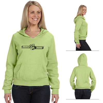 Customized Comfort Colors C1595 Ladies' 10 oz Garment-Dyed Front-Slit Pullover Hood