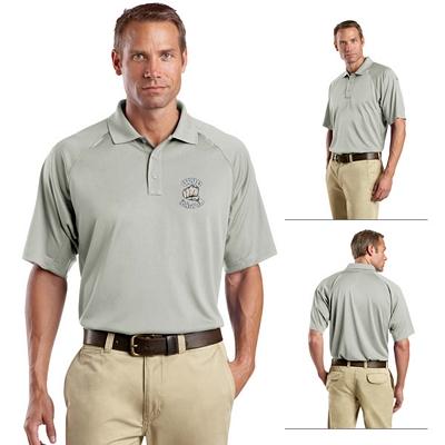 Customized CornerStone CS410 Men's Select Snag-Proof Tactical Polo