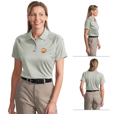 Customized CornerStone CS411 Ladies' Select Snag-Proof Tactical Polo