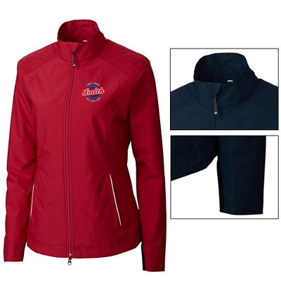 Customized Cutter & Buck LCO01211 Ladies CB WeatherTec Beacon Full Zip Jacket