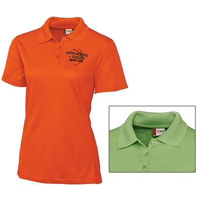 Customized Cutter & Buck LQK00021 Ladies' Ice Lady Pique Polo