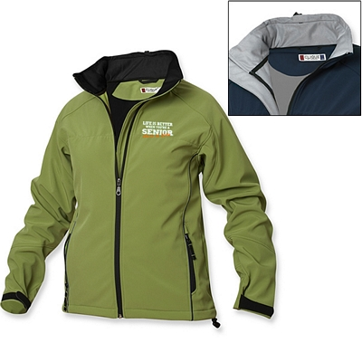 Customized Cutter & Buck LQO00004 Ladies' Softshell Jacket