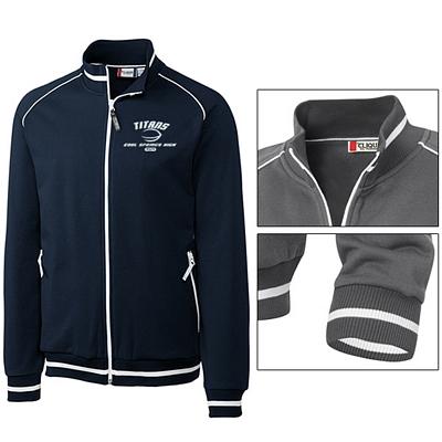 Customized Cutter & Buck MQK00030 Men's Craig Zippered Jacket