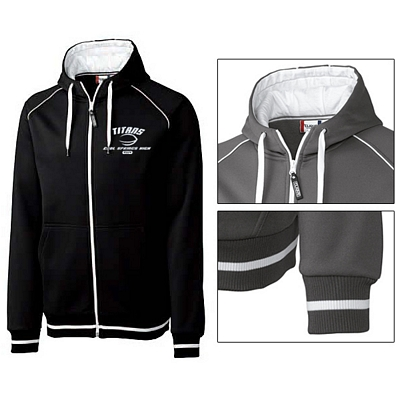 Customized Cutter & Buck MQK00035 Men's Gerry Zippered Hoodie