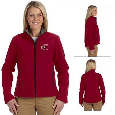Customized Devon & Jones D765W Ladies Advantage Soft Shell Jacket