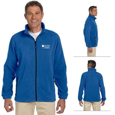 Customized Devon & Jones D780 Mens Wintercept Fleece Full-Zip Jacket