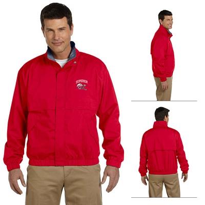 Customized Devon & Jones D850 Mens Clubhouse Jacket