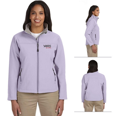 Customized Devon & Jones D995W Ladies Soft Shell Jacket