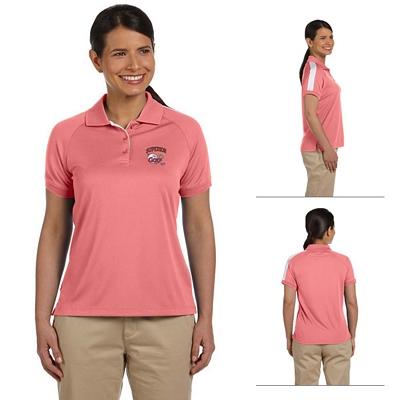 Customized Devon & Jones DG375W Ladies Dri-Fast Advantage Colorblock Mesh Polo