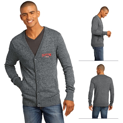 Customized District Made DM315 Men's Cardigan Sweater