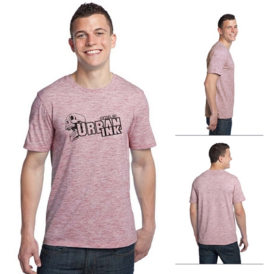 Customized District DT1000 Young Men's Extreme Heather Crew Tee