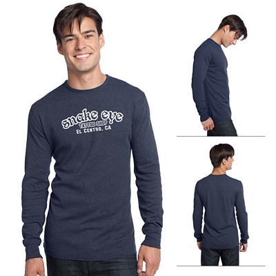 Customized District DT118 Young Men's Long Sleeve Thermal