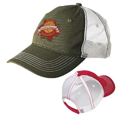 Customized District DT607 Mesh Back Cap