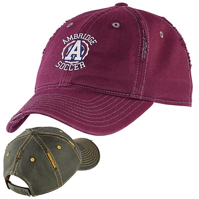 Customized District DT612 Rip and Distressed Cap