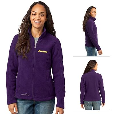 Customized Eddie Bauer EB201 Ladies' Full-Zip Fleece Jacket