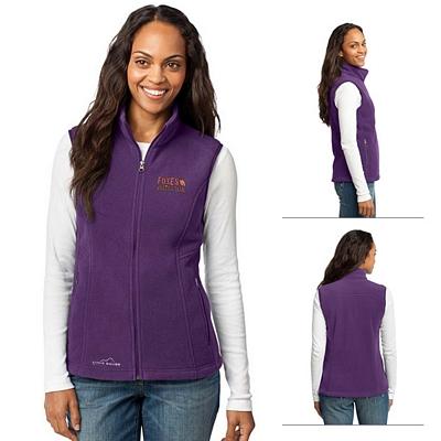 Customized Eddie Bauer EB205 Ladies' Fleece Vest