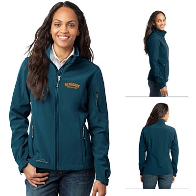 Customized Eddie Bauer EB531 Ladies' Soft Shell Jacket