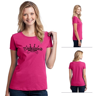 Customized Fruit of the Loom L3930 Ladies' 5 oz 100% Heavy Cotton HD T-Shirt